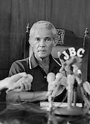 PNP leader Michael Manley - 1980