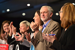 © Licensed to London News Pictures. 26/09/2015. Brighton, UK. Leader of the Labour Party JEREMY CORBYN attends the Labour Party Women's Conference, held at the Metropole Hotel in Brighton on the eve of the Labour party conference. Photo credit: Ben Cawthra/LNP
