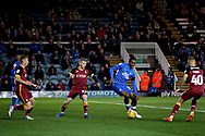 Peterborough United forward Ivan Toney (17) tries to turn in the box during the EFL Sky Bet League 1 match between Peterborough United and Bradford City at The Abax Stadium, Peterborough, England on 17 November 2018.