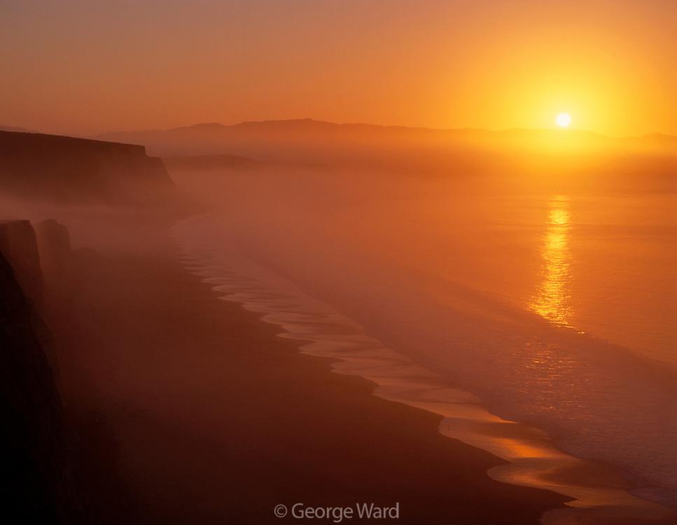 Sunrise atDrakes Bay,Point Reyes National Seashore, California