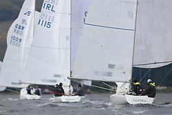 Marine Blast Regatta 2013 - Holy Loch SC<br /> <br /> 1173, Local Hero, Geoff Howison, OD, Etchells<br /> <br /> Credit: Marc Turner / PFM Pictures