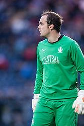 Falkirk's keeper Jamie MacDonald. Falkirk  2 v 2 Rotherham Utd, pre-seaon friendly.<br /> © Michael Schofield.