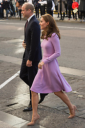 October 9, 2018 - Chichester, Chichester, United Kingdom - The Duke and Duchess of Cambridge arrive to attend The Global Ministerial Mental Health Summit in London, United Kingdom on 09 October 2018. (Credit Image: © Ray Tang/ZUMA Wire)