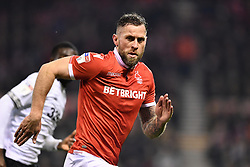 February 25, 2019 - Nottingham, England, United Kingdom - Daryl Murphy (9) of Nottingham Forest during the Sky Bet Championship match between Nottingham Forest and Derby County at the City Ground, Nottingham on Monday 25th February 2019. (Credit Image: © Mi News/NurPhoto via ZUMA Press)