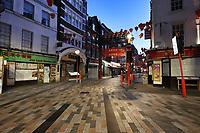London's Chinatown in lockdown during the Coronavirus pandemic