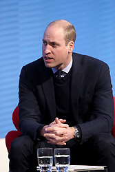The Duke of Cambridge during the first Royal Foundation Forum in central London.