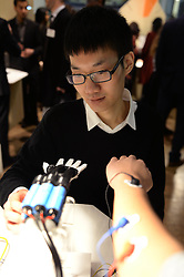 EDITORIAL USE ONLY A device which strengthens the limbs of children with muscular problems designed by Xinyang Tan from China at this yearÕs International Student Innovation Awards at Central Saint Martins, London.