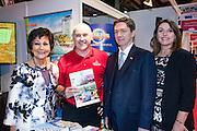 27/1/16 US Chargé d'affaires Reece Smyth Universal Orlando Resort stand at the Holiday World Show 2017 at the RDS Simmonscourt in Dublin. Picture: Arthur Carron