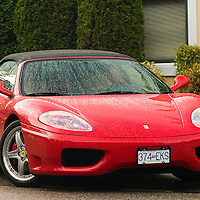 High Performance Sports Car.