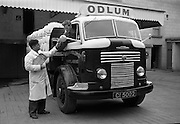 Odlums Lorry at Portlaoise.16.04.1964