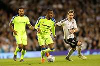 LONDON, ENGLAND - MAY 14:LONDON, ENGLAND - MAY 14:Derby's Kasey palmer goes on the attack