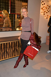 Servane Goil at the 2017 PAD Collector's Preview, Berkeley Square, London, England. 02 October 2017.