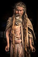 Portrait of Sadhu from Kathmandu, Nepal.<br /> Photo by Lorenz Berna
