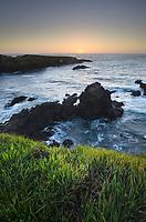 Sunset over Mendocino Headlands, California
