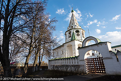 Russian Orthodox church in the Suzdal, Russia, an 11th century Golden Ring town. Tuesday April 25, 2017. Photography ©2017 Michael Lichter.