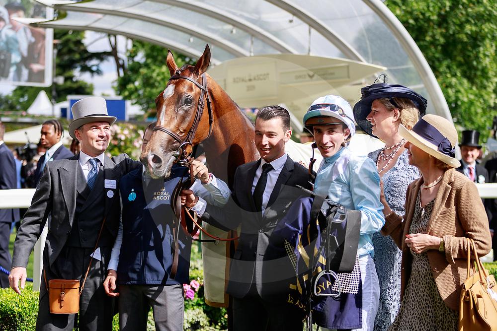 Watch Me (PC. Boudot) wins The Coronation Stakes Gr.1 at Royal Ascot, 21/06/2019, photo: Zuzanna Lupa