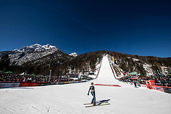 Pius Paschke of Germany during the Trial Round of the Ski Flying Hill Individual Competition at Day 1 of FIS Ski Jumping World Cup Final 2019, on March 21, 2019 in Planica, Slovenia. Photo by Vid Ponikvar / Sportida