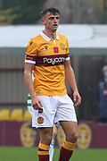 Barry Maguire (Motherwell) during the Scottish Premiership match between Motherwell and Celtic at Fir Park, Motherwell, Scotland on 8 November 2020.