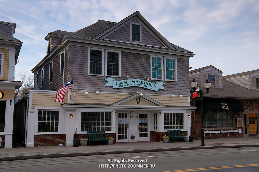 Liam Maguire's famous pub and restaurant In Falmouth, Cape Cod, MA