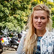 NLD/Amsterdam/20150819 - Persdag Expeditie Robinson 2015, Sandra van Nieuwland