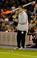 Photo: Leigh Quinnell.<br /> West Bromwich Albion v Burnley. Coca Cola Championship. 18/11/2006. Burnley manager Steve Cotterill takes notes as his team are beat by three goals.