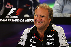 Robert Fernley (GBR) Sahara Force India F1 Team Deputy Team Principal in the FIA Press Conference.<br /> 28.10.2016. Formula 1 World Championship, Rd 19, Mexican Grand Prix, Mexico City, Mexico, Practice Day.<br /> Copyright: Moy / XPB Images / action press
