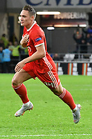 Football - 2018 / 2019 UEFA Nations League B - Group Four: Wales vs. Republic of Ireland<br /> <br /> Connor Roberts of Wales celebrates scoring his team's 4th goal, at Cardiff City Stadium.<br /> <br /> COLORSPORT/WINSTON BYNORTH