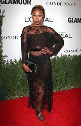 Glamour Celebrates 2016 Women of the Year Awards - Los Angeles.<br /> 14 Nov 2016<br /> Pictured: Cynthia Erivo.<br /> Photo credit: Jaxon / MEGA<br /> <br /> TheMegaAgency.com<br /> +1 888 505 6342
