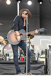 June 20, 2018 - Oshkosh, Wisconsin, U.S - MICHAEL HOBBY of A Thousand Horses during Country USA Music Festival at Ford Festival Park in Oshkosh, Wisconsin (Credit Image: © Daniel DeSlover via ZUMA Wire)