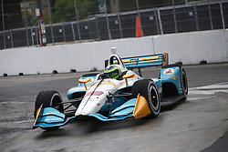 July 14, 2018 - Toronto, Ontario, Canada - CONOR DALY (88) of the United States attempts to qualify in the rain for the Honda Indy Toronto at Streets of Toronto in Toronto, Ontario. (Credit Image: © Justin R. Noe Asp Inc/ASP via ZUMA Wire)