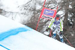 20.01.2011, Tofana, Cortina d Ampezzo, ITA, FIS World Cup Ski Alpin, Lady, Cortina, Abfahrt 2. Training, im Bild Gina Stechert (GER, #25) // Gina Stechert (GER) during FIS Ski Worldcup ladies downhill second training at pista Tofana in Cortina d Ampezzo, Italy on 20/1/2011. EXPA Pictures © 2011, PhotoCredit: EXPA/ J. Groder