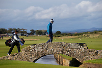 Golf - 2021 Alfred Dunhill Links Championship - Day Four - The Old Course at St Andrew's - Day Four -  Sunday 3rd October 2021<br /> <br /> Dean Burmester walks up the 18th<br /> <br /> Credit: COLORSPORT/Bruce White