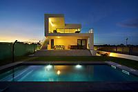 17//Septiembre/2015 Islas Baleares. Palma de Mallorca.<br /> Vivienda construida por Prismas en Sa Ràpita.<br /> <br /> © JOAN COSTA