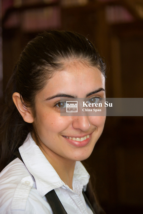 Portrait of a girl, Sighnaghi, Georgia