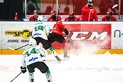 CIMŽAR Tadej during Alps League Ice Hockey match between HDD SIJ Jesenice and HK SZ Olimpija on January 2, 2021 in Ice Arena Podmezakla, Jesenice, Slovenia. Photo by Peter Podobnik / Sportida