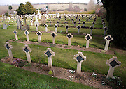 Pre 1940 Naval burial ground cemetery, with many graves and memorials from HMS Ganges, Shotley, Suffolk