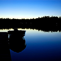 Acton, Maine, sunset