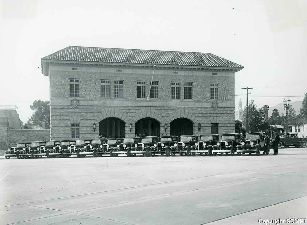 1930 New Fire Station On Cahuenga Blvd.
