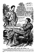 """""""The Man that hath not Music,"""" &c. Brown (musical) invites his Highland friend, McClanky, to stay for a few days with him. But McClanky was musical too! McClanky (the next morning). """"Will I give you a chune?"""" Brown (he had wondered what was in that green bag!). """"Oh - eh? Thanks, very much!"""" (Puts on invalid expression.) """"But my Doctor tells me I must on no account indulge my passion for music for some time!"""""""