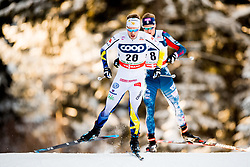 December 16, 2017 - Toblach, ITALY - 171216 Viktor Thorn of Sweden competes in men's 15km interval start free technique during FIS Cross-Country World Cup on December 16, 2017 in Toblach..Photo: Jon Olav Nesvold / BILDBYRN / kod JE / 160104 (Credit Image: © Jon Olav Nesvold/Bildbyran via ZUMA Wire)
