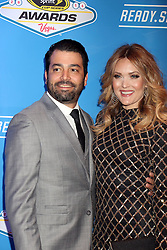 Daniel Gale, Amy Purdy attending the 2016 NASCAR Sprint Cup Series Awards