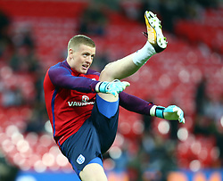 November 10, 2017 - London, England, United Kingdom - England's Jordan Pickford..during International Friendly match between England  and Germany  at Wembley stadium, London  on 10 Nov  , 2017 ..during International Friendly match between England  and Germany  at Wembley stadium, London  on 10 Nov  , 2017  (Credit Image: © Kieran Galvin/NurPhoto via ZUMA Press)