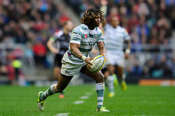 London Irish Winger (#11) Marland Yarde in action during the second half of the match - Photo mandatory by-line: Rogan Thomson/JMP - Tel: Mobile: 07966 386802 29/12/2012 - SPORT - RUGBY - Twickenham Stadium - London. Harlequins v London Irish - Aviva Premiership - LV= Big Game 5.