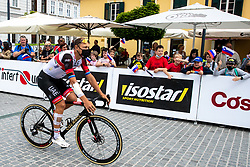 Matteo TRENTIN of UAE TEAM EMIRATES prior to 2nd Stage of 27th Tour of Slovenia 2021 cycling race between Zalec and Celje (147 km), on June 10, 2021 in Slovenia. Photo by Matic Klansek Velej / Sportida