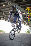 #27 (YOSHIMURA Jukia) JPN at Round 6 of the 2019 UCI BMX Supercross World Cup in Saint-Quentin-En-Yvelines, France