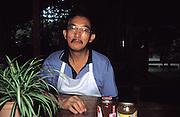 Tabin Wildlife Sanctuary, Sabah. December 24th: Portrait of the Cook at Tabin Wildlife Sanctuary.