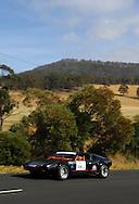 Keith Callinan & Mary Anne Callinan.1972 DeTomaso Pantera .Day 2.Targa Wrest Point 2009.Southern Tasmania.1st of February 2009.(C) Joel Strickland Photographics.