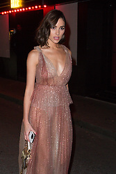 Olivia Culpo arriving at Dior Addict Stellar Shine diner and party at Roxie restaurant during Ready To Wear A/W 2019-2020 as part of Paris Fashion Week on February 26, 2019 in Paris, France. Photo by Nasser Berzane/ABACAPRESS.COM