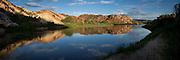 Serenity on the Green River at Split Mountain, Utah