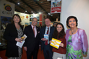 21/1/16  US Ambassador Kevin O'Malley at the Florida Beaches stand at the Holiday World Show in the RDS in Dublin. Picture: Arthur Carron